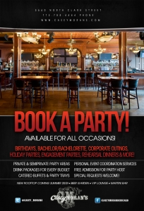 Book Your Next Party With Us!