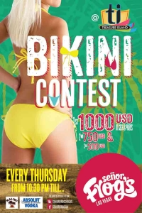 THURSDAY'S BIKINI CONTEST