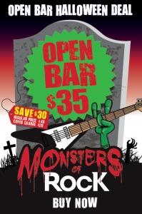 We Own the Bar Halloween Deal