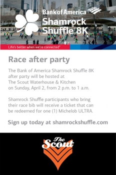 Bank of America Race After Party
