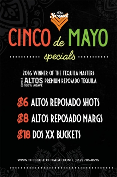 Cinco de Mayo at The Scout!