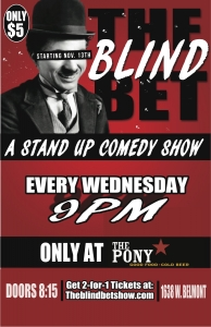 The Blind Bet Comedy Show