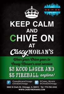 Keep Calm & Drink at Casey's!