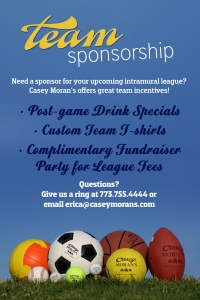 Let Casey's Sponsor Your Team!
