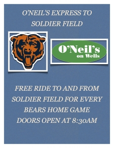 O'Neil's Express to Soldier Field