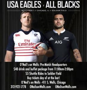 USA-All Blacks Pre-Match Party
