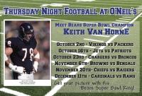 Thursday Night Football with Keith Van Horne!
