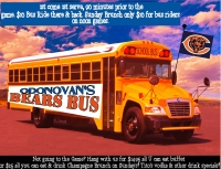 Get on the ODs Bears Bus