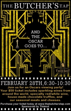 The 88th Academy Awards! Gatsby Themed Viewing Party!