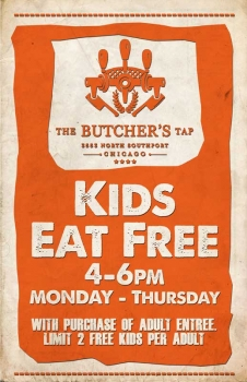 Kids Eat Free 4-6pm