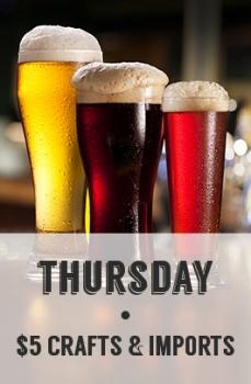 Thursday Specials