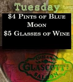 Tuesday Specials