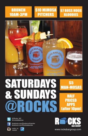 Saturday & Sunday Specials