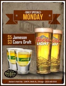 Monday Specials