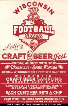 Wisconsin Football Kickoff Party