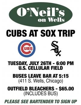 Cubs-Sox Bus Trip