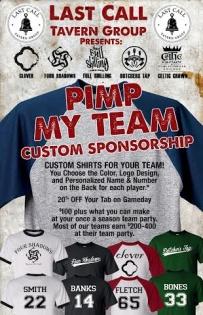 Sponsor Your Team!