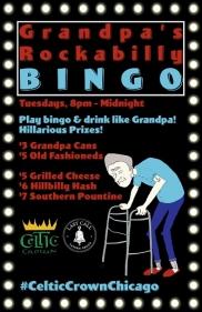 Grandpa's Rockabilly Bingo!