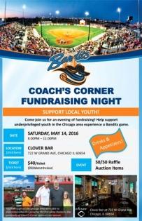 Coaches Corner Fundraiser!