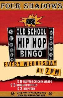 Old School Hip Hop Bingo