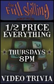 1/2 Price EVERYTHING!