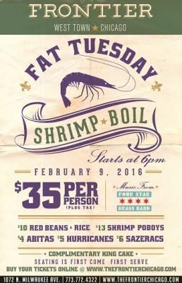 Fat Tuesday Shrimp Boil