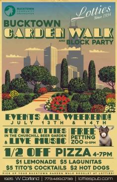Bucktown Garden Walk & Block Party! 2019