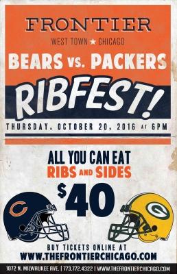 Bears vs. Packers Ribfest