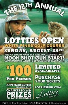 12th Annual Lotties Open