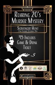 Roaring 20's Murder Mystery Scavenger Hunt